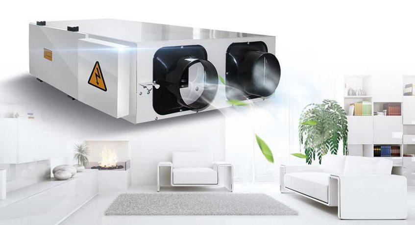 別墅新風系統解決方案-空氣能熱泵廠家